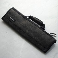 Messermeister 8 Pocket Knife Roll Charcoal Gray Felt