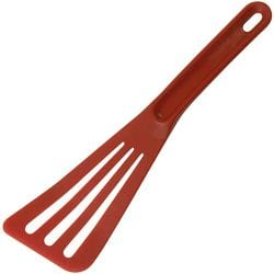 Matfer Bourgeat 112422C Exoglass Pelton Spatula: Red