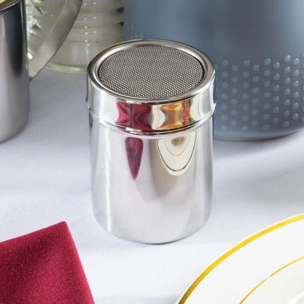 Ateco Tin Powdered Sugar Shaker: 4-oz.