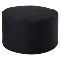 Chefwear Mesh Top Skull Cap: Black