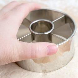 Ateco Doughnut Cutter: 3.5-in.