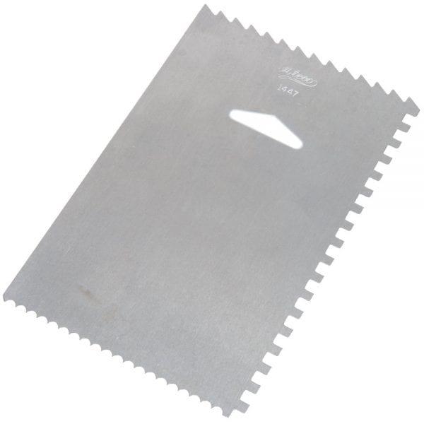 Ateco Square Decorating Comb/Smooth