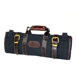 Boldric 17 Pocket Canvas Knife Bag Black