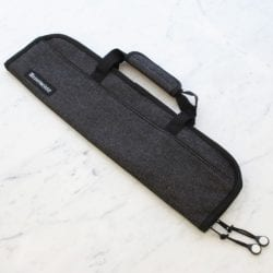 Messermeister 5 Pocket Black Denim Knife Roll