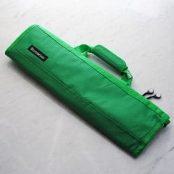 Messermeister Padded Knife Roll Cordura: 8-pocket Kelly Green