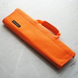 Messermeister Padded Knife Roll Cordura: 8-pocket Orange