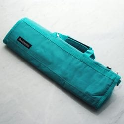 Messermeister Padded Knife Roll Cordura: 8-pocket Teal