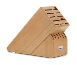 Wusthof Natural Wood Block: 17-Slot