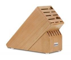 Wusthof Natural Wood Block: 17-Slot