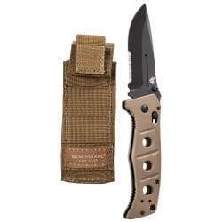 Benchmade 275SBKSN Adamas Folding Knife Combo Blade