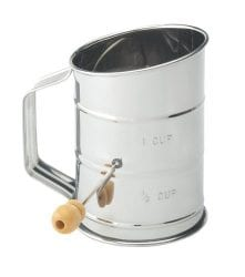 Mrs. Anderson's 1 Cup Hand Crank Flour Icing Sugar Sifter