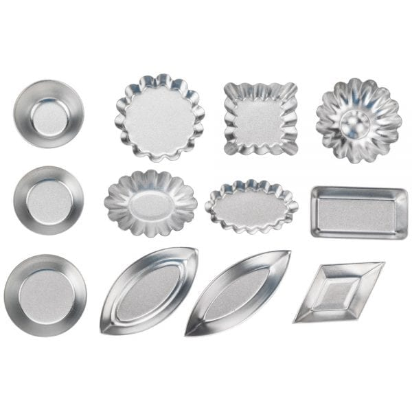 Ateco 72-Piece Tartlet Mold Set