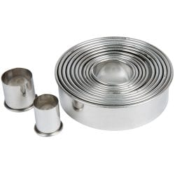 Ateco 12 pc. Plain Round Cutter Set