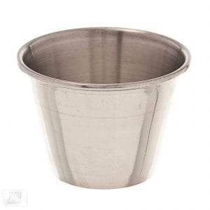 Browne 2-1/2 oz Stainless Sauce Cup