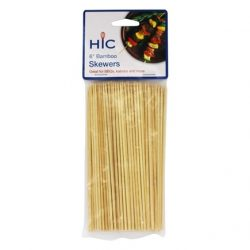 Harold Imports 6-in. Bamboo Skewers