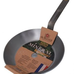 de Buyer Mineral B Element Round Fry Pans