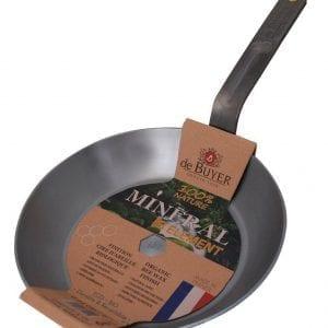 de Buyer Mineral B Element Round Fry Pans