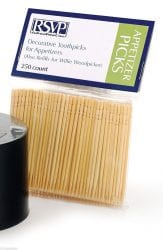 RSVP 250 Count Decorative Toothpicks