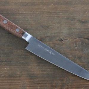 Sakai Takayuki Aonikou Blue-2 Carbon Steel Utility/Petty Knife: 4.7-in.