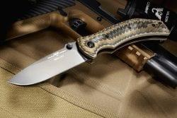 Wilson Combat ELC Black G10 Starburst Handle