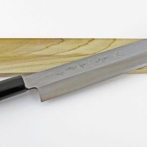 Kikuichi Carbon Steel Yanagi Sushi Knife: 10.5-in.