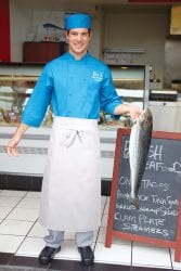 Chef Works Long 4 Way Apron