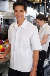 Chef Works Cool Vent White Cook Shirt