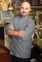 Chef Works Three Quarter Sleeve Chef Coat: Gray