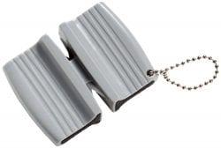 Mercer Culinary Keychain Dual Sharpener, Plastic, Gray