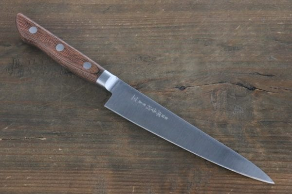Sakai Takayuki Aonikou Blue-2 Carbon Steel Utility/Petty Knife: 7-in.